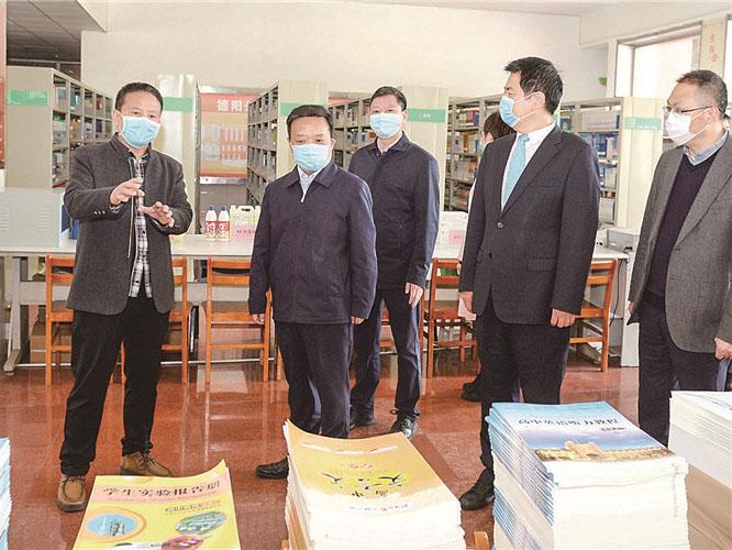德阳市委书记靳磊调研集团学校