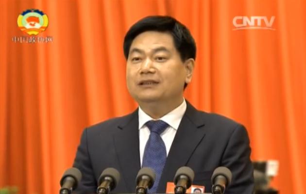 苏华董事长在全国政协十二届四次会议第三次全体会议上发言