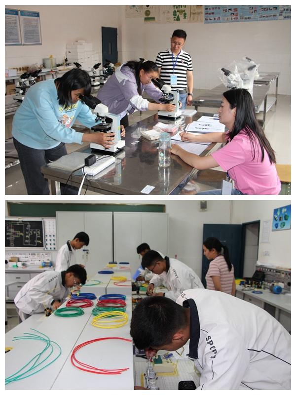 【图片新闻】会理职校举行第十届学生职业技能大赛